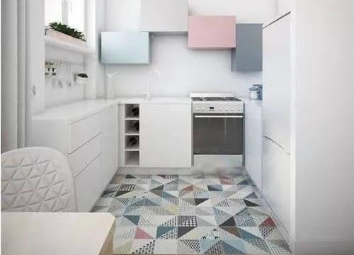 瓷砖这样铺,比邻居家的地毯还美,关键是容易打理!
